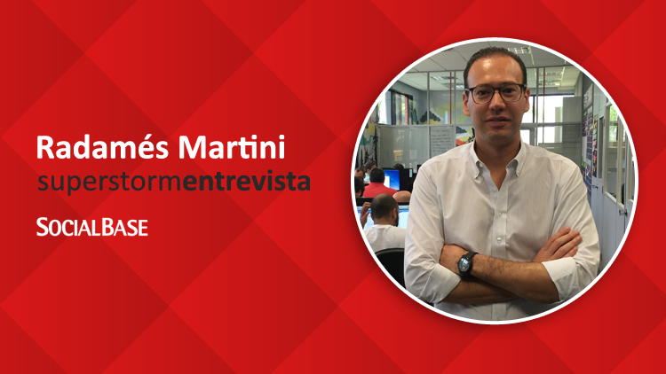 Superstorm Entrevista: Radamés Martini