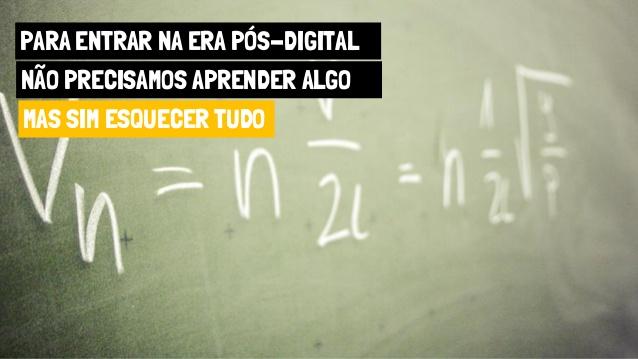 """Vivemos a geração dos """"perdidos digitais"""""""